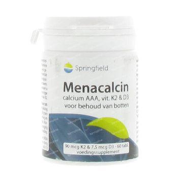 Springfield Menacalcin Vitamine K 60 comprimés