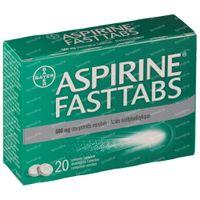 Aspirine 500mg 20  tabletten