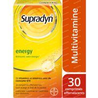Supradyn Energy Multivitamin mit CoQ10 30  comprimés effervescents