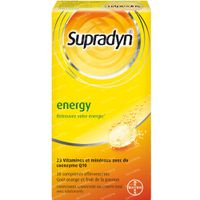 Supradyn Energy - Multivitamine Énergie avec CoQ10 30  comprimés effervescents