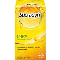 Supradyn Energy - Multivitamine Énergie avec CoQ10 90  comprimés