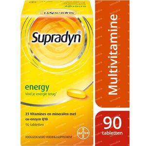 Supradyn Energy - Multivitamine voor Energie - met CoQ10 90 tabletten
