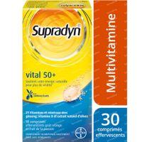Supradyn Vital 50+ mit Antioxidantien 30  comprimés effervescents