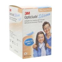 Opticlude Silicone Oogpleister Maxi 5,7cm x 8cm 2739ST50 50 st