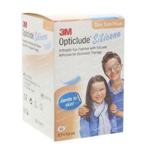 Opticlude Silicone Oogpleister Maxi 5,7cm x 8cm 2739ST50 50 stuks
