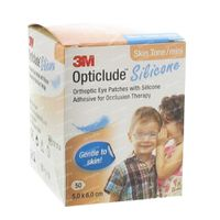 Opticlude Silicone Oogpleister Mini 5cm x 6cm 2737ST50 50 st