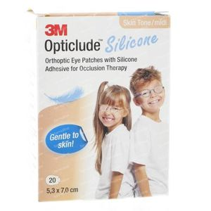 Opticlude Sil Eye Patch Skin Midi 2737st 20 pieces