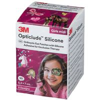 Opticlude Silicone Pansement Orthoptique Midi Girls 2738PG50 50 st