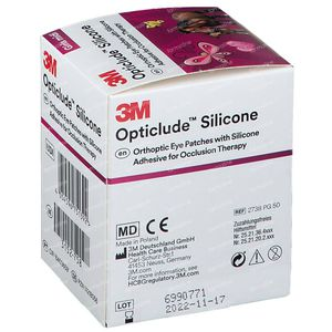 Opticlude Silicone Oogpleister Midi Girls 2738PG50 50 stuks