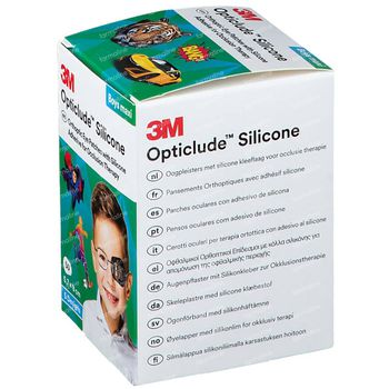 Opticlude Sil Pansement Yeux Opticlude Silicone Pansement Othoptique Maxi Boys 5,7cm x 8cm 2739PB50Boy Maxi 2739pb 50 pièces