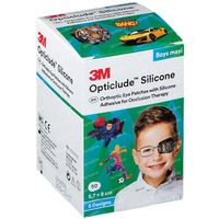 Image of Opticlude Silicone Oogpleister Maxi Boys 5,7cm x 8cm 2739PB50 50 st