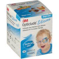 Opticlude Silicone Oogpleister Mini Boys 5cm x 6xm 2737PB50 50 st