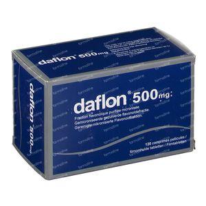 Daflon Impexeco 500mg 120 comprimés