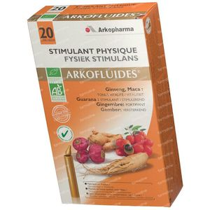 Arkofluide Fysical/Intellectual Stimulans 20 unidose