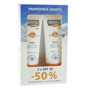 Bodysol Ski Adults SPF30 2 pieces
