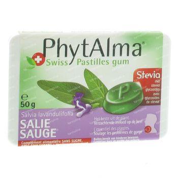 Phytalma Sauge Sans Sucre 50 g gommes à mâcher