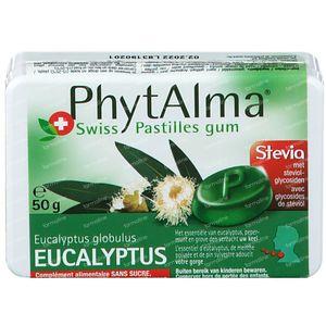 Phytalma Eucalyptus Sans Sucre 50 g gommes à mâcher