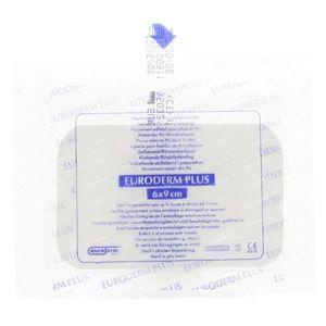 Euroderm Plus Steriel Pansement d'Ile Sterile 6x9cm 1 pièce