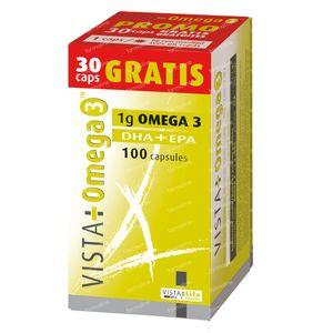 Vista-Omega 3 70+30  Capsules