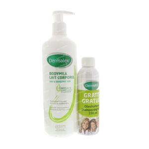 Dermalex Body Milk + FREE Oil Shampoo 500 ml
