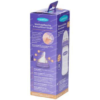 Lansinoh Biberon + Tetine Natural Wave 240 ml