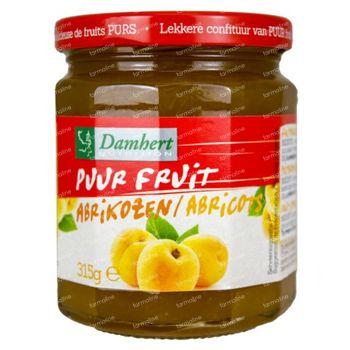 Damhert Confiture Abrikot 100 %  Sans Sucre 315 g