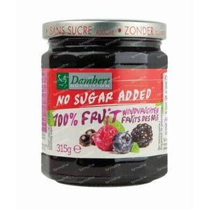 Damhert Confituur Woudvrucht - 100% Fruit (zonder toegevoegde suiker) 315 g