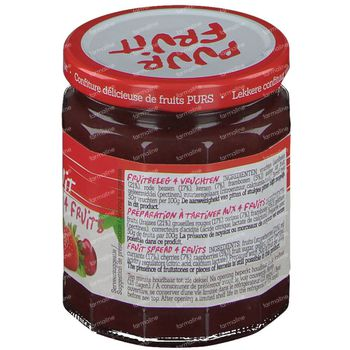Damhert Confiture 4 fruits 100 % Sans Sucre 315 g