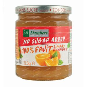 Damhert Confiture Orange 100 % Sans Sucre 315 g