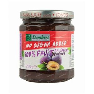 Damhert Konfitüre Pflaume 100 % Zuckerfrei 315 g