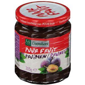 Damhert Confiture Prune 100 % Sans Sucre 315 g