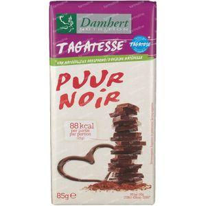 Damhert Zartbitterschokolade Zuckerfrei 85 g