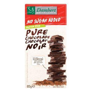 Damhert Pure Chocolade Zonder Suiker 85 g