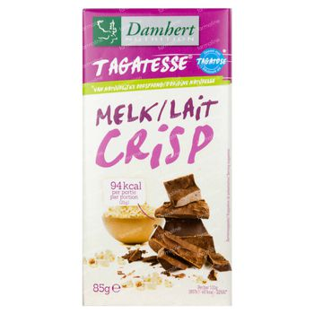 Damhert Chocolade Au lait Crisp 85 g