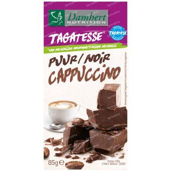 Damhert Chocolat Noir Fourré Cappuccino Sans Sucre 85 g