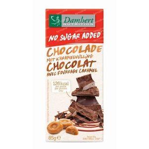 Damhert Chocolade Milk Crisp/Caramel Sugar free 85 g