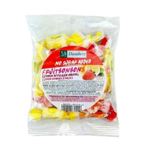Damhert Fruittoffe Zonder Suiker 100 g