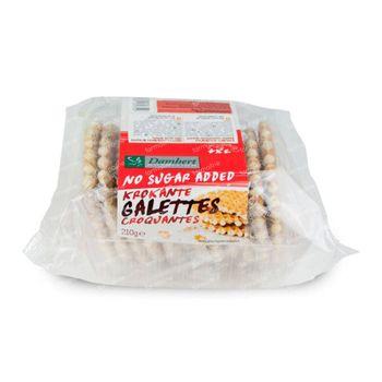 Damhert Galetten Krokant Zonder Suiker 210 g