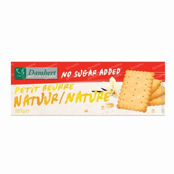 Damhert Petit Beurre Biscuits Nature Sans Sucre 200,40 g