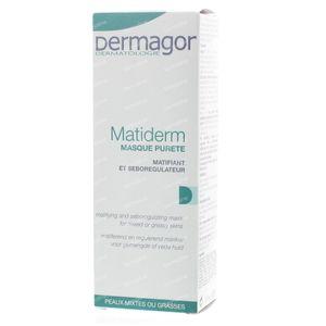 Dermagor Matiderm Reinigend Masker 40 ml