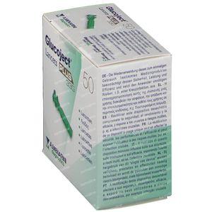 Glucoject Lancets Plus 33g 44118 50 pièces