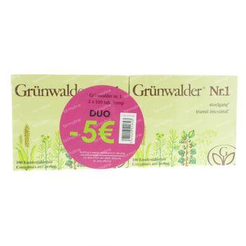 Grunwalder Nr1 Maxi Transit Naturel -5€ 200 comprimés