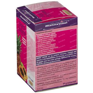 Mannavital Digest Enzyme 75 capsules