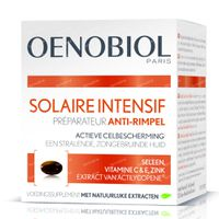 Oenobiol Solaire Intensif Anti-Rimpel - Celbescherming van Binnenuit 30  capsules