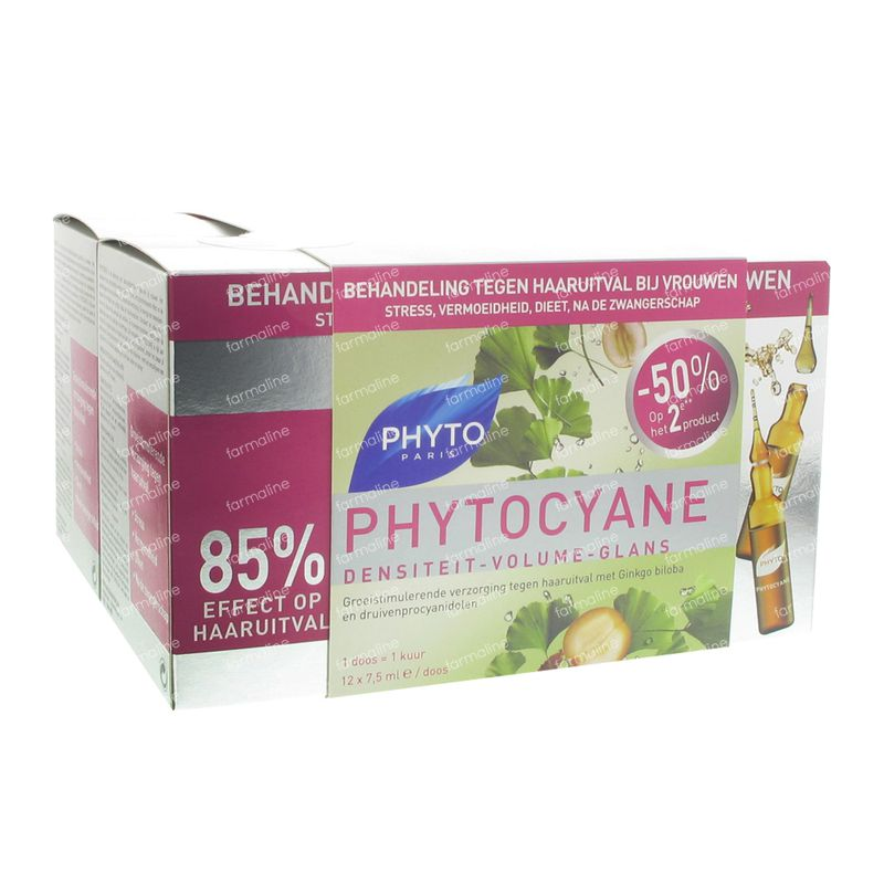 Phyto Phytocyane Anti Hair Loss Serum Duo 24 Ampoules Order Online