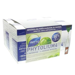 Phyto Phytolium 4 Anti Hair-Loss Concentrate Duo 84 ml