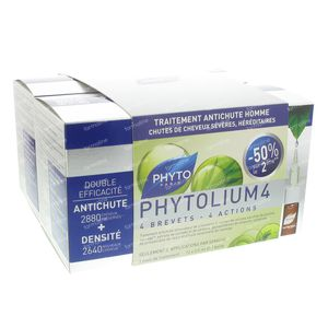 Phyto Phytolium 4 Concentre Intensif Anti-Chute Duo 84 ml