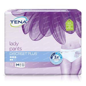 Tena Lady Pants Discreet Plus M 797512 12 stuks