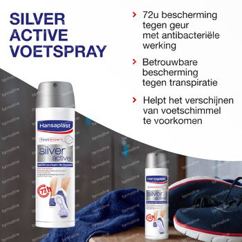 Silver active deodorant 150 ml