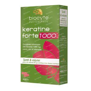 Biocyte Keratine Forte 1000mg 40 capsules